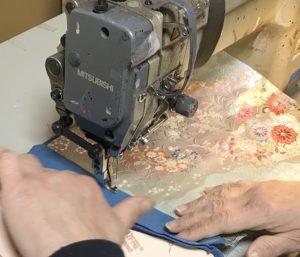 プロによる縫製
